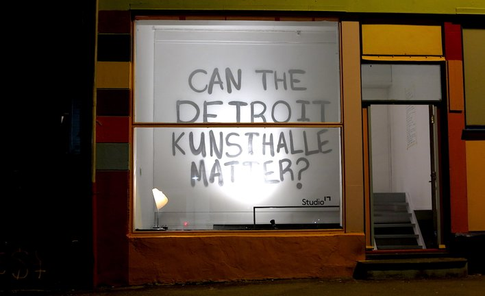 Kjetil Detroit Kristensen, Sayed Sattar Hasan, Nicholas John Jones, Mathew Lacosse - 'Detroit Kunsthalle Under New Management' (2018)